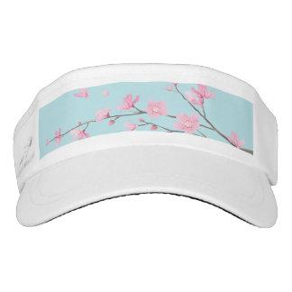 Cherry Blossom - Sky Blue Visor