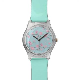 Cherry Blossom - Sky Blue Watch