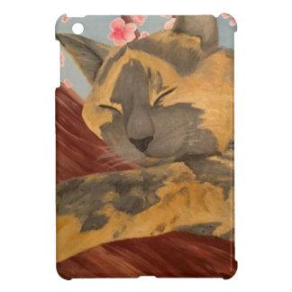 Cherry Blossom Sleeping Cat Cover For The iPad Mini