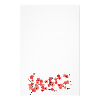 Cherry Blossom Stationery