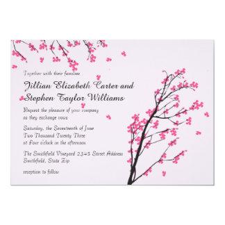 Cherry Blossom Stems - Wedding Invitation