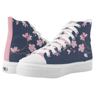 Cherry Blossom - Tannin High Tops