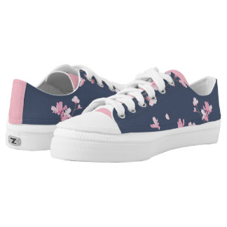 Cherry Blossom - Tannin Low-Top Sneakers