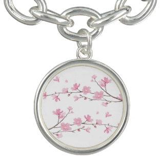 Cherry Blossom - Transparent Background Bracelets