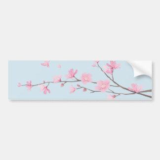 Cherry Blossom - Transparent-Background Bumper Sticker
