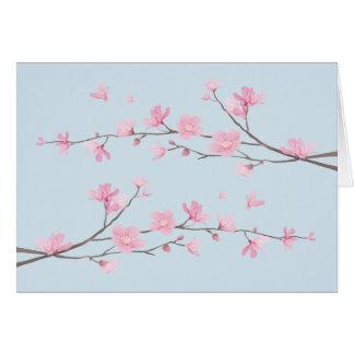 Cherry Blossom - Transparent-Background Card