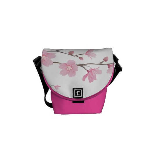 Cherry Blossom - Transparent Background Commuter Bag