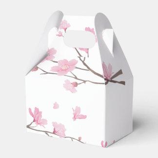 Cherry Blossom - Transparent Background Favor Box