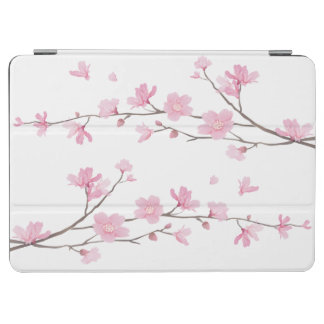 Cherry Blossom - Transparent Background iPad Air Cover