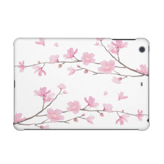 Cherry Blossom - Transparent Background iPad Mini Covers