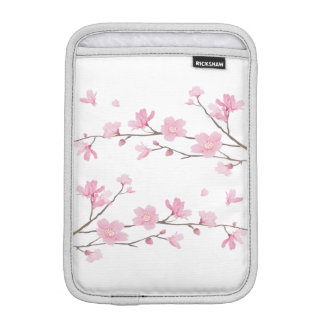 Cherry Blossom - Transparent Background iPad Mini Sleeve