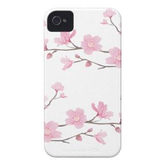 Cherry Blossom - Transparent-Background iPhone 4 Case-Mate Case