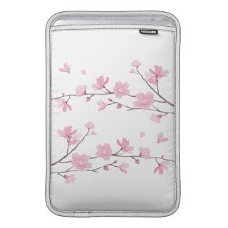 Cherry Blossom - Transparent Background MacBook Sleeve