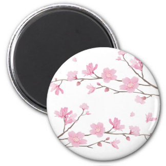 Cherry Blossom - Transparent-Background Magnet