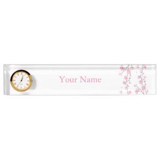Cherry Blossom - Transparent Background Name Plate