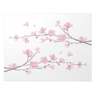 Cherry Blossom - Transparent Background Notepads