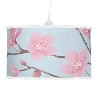 Cherry Blossom - Transparent Background Pendant Lamp