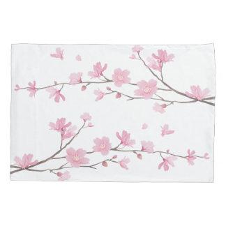 Cherry Blossom - Transparent Background Pillowcase