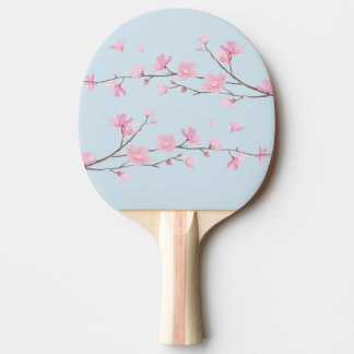 Cherry Blossom - Transparent Background Ping-Pong Paddle