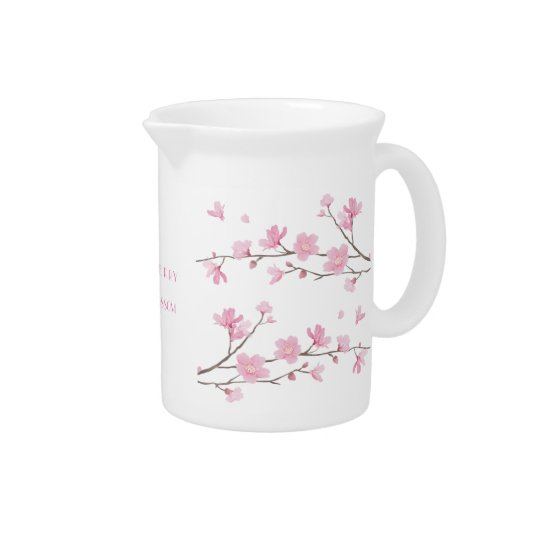 Cherry Blossom - Transparent-Background Pitchers