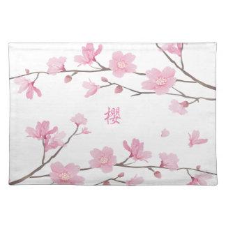 Cherry Blossom - Transparent-Background Placemat