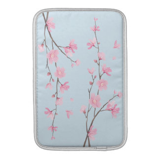 Cherry Blossom - Transparent Background Sleeve For MacBook Air