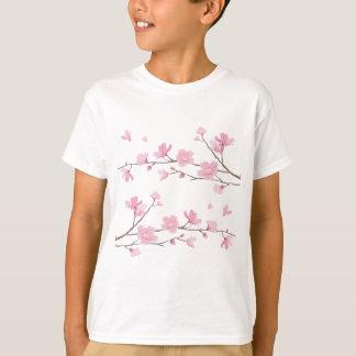 Cherry Blossom - Transparent-Background T-Shirt
