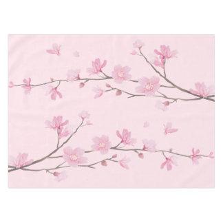 Cherry Blossom - Transparent Background Tablecloth