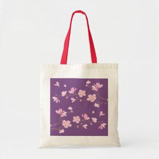 Cherry Blossom - Transparent-Background Tote Bag