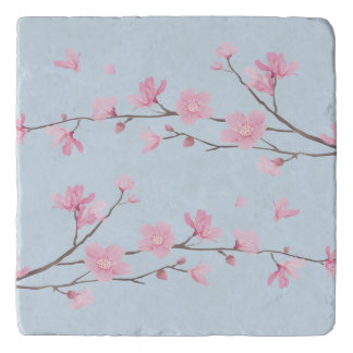 Cherry Blossom - Transparent Background Trivet