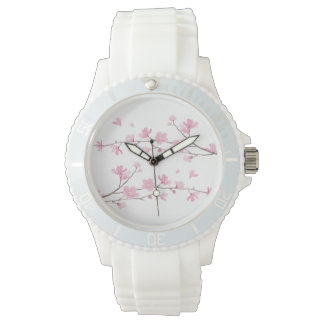 Cherry Blossom - Transparent Background Watches