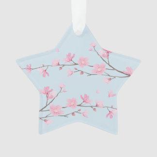 Cherry Blossom - Transparent - HAPPY BIRTHDAY Ornament