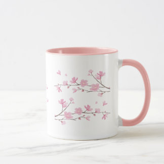 Cherry Blossom - Transparent Mug