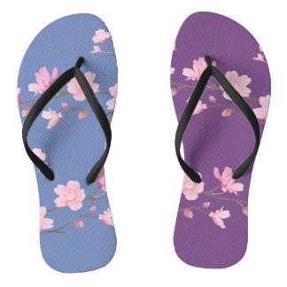 Cherry Blossom - Transparent - Special Flip Flops