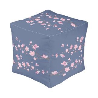 Cherry Blossom - Transparent - Tannin color Pouf