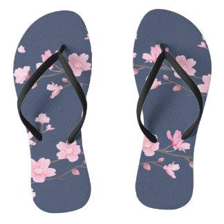 Cherry Blossom - Transparent - Tannin Flip Flops