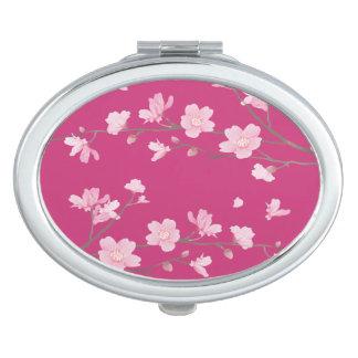 Cherry Blossom Travel Mirrors