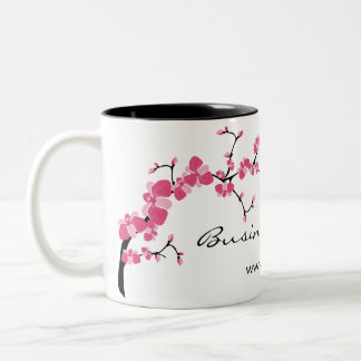 Cherry Blossom Tree Branch Customizable Coffee Mug