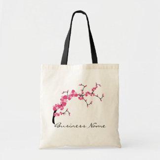Cherry Blossom Tree Branch Customizable Tote Bag