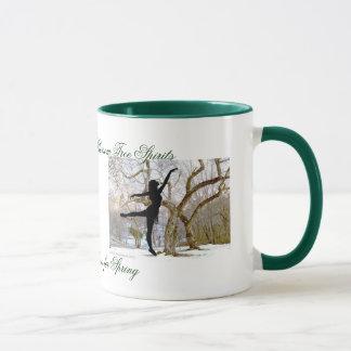 Cherry Blossom Tree Spirits Mug