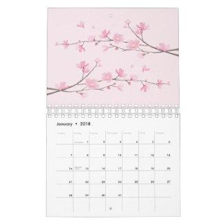 Cherry Blossom Wall Calendar