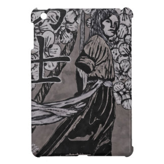 Cherry Blossom Warrior by Carter L Shepard iPad Mini Covers