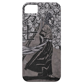 Cherry Blossom Warrior by Carter L Shepard iPhone 5 Cover