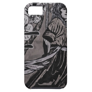Cherry Blossom Warrior by Carter L Shepard iPhone 5 Covers
