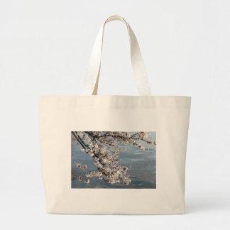 Cherry Blossom Washington DC Large Tote Bag