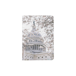 cherry blossom washington dc passport holder