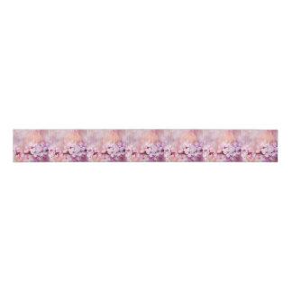Cherry Blossom Watercolor Art Grosgrain Ribbon