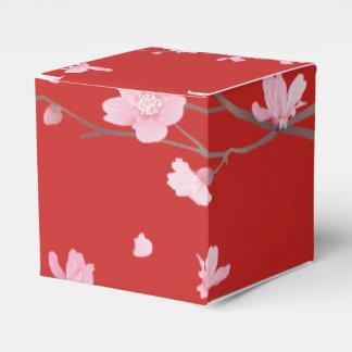 Cherry Blossom Wedding Favor Boxes