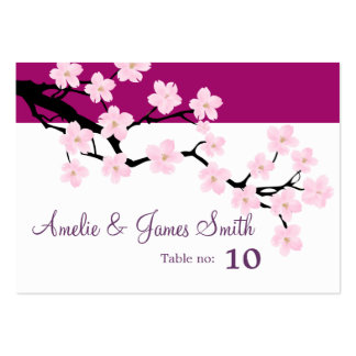 Cherry Blossom | Wedding Place Cards Business Cards