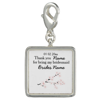 Cherry Blossom Wedding Souvenirs Gifts Giveaways Photo Charms